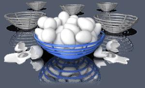 401k investing eggs