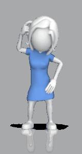 certified financial planner woman wondering